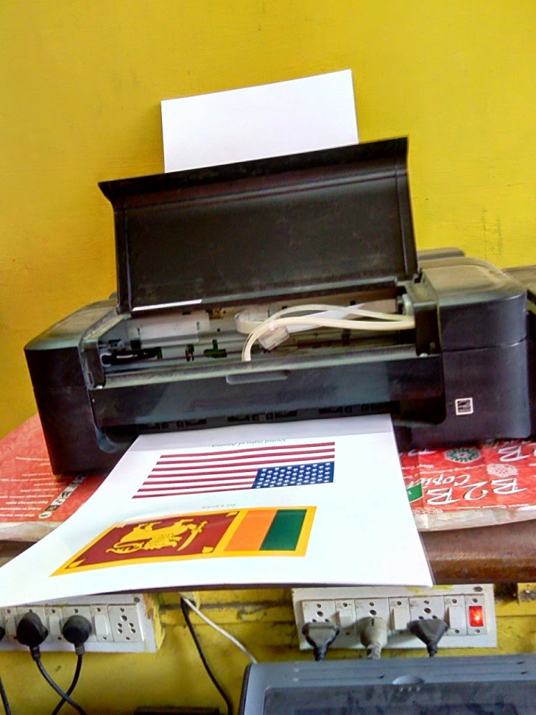 Epson Colour Printer High Quality Printing on Photo Paper