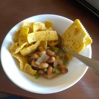 Texas Caviar, Black eyed pea dip, New Year tradition