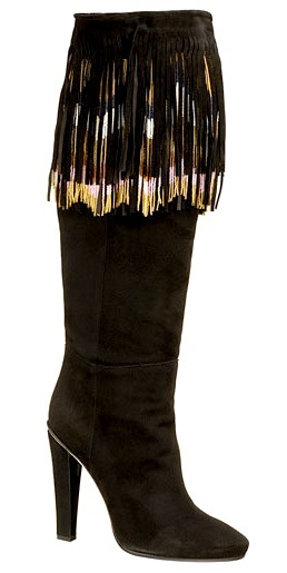 Jimmy Choo Fringe Knee Boots clearance best sale cheapest price sale online eastbay for sale sneakernews cheap price Db03QhuDzP