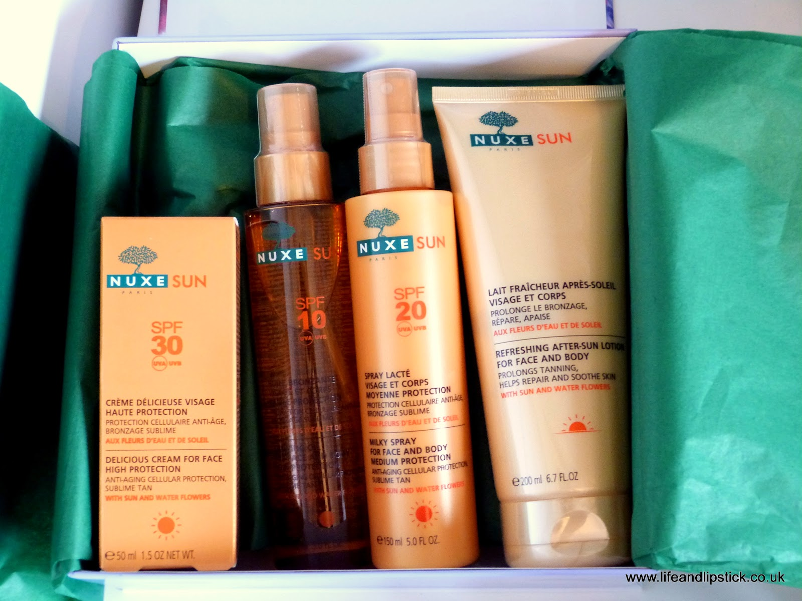 Nuxe Sun Beauty Haul