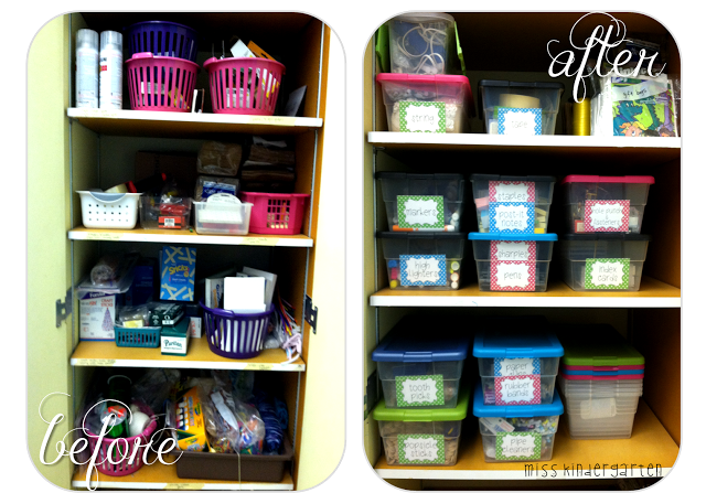 Organizing the Supply Closet