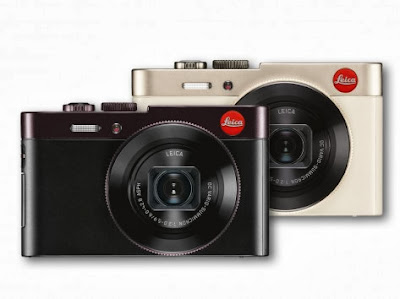 Leica C Dark Red and Light Gold, Leica C, luxury camera, new leica camera, new digital camera, panasonic LF1, leica lens, Wi-Fi, NFC