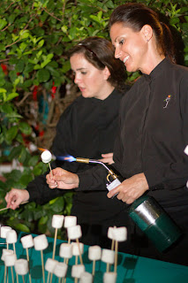 arthurs catering smores wedding