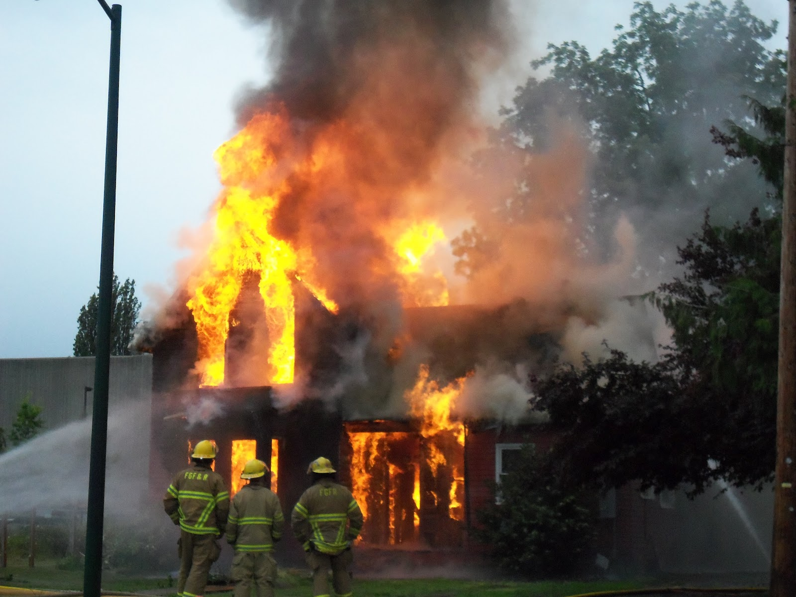 In Blogland Forest Grove & Cornelius Fire Departments Training