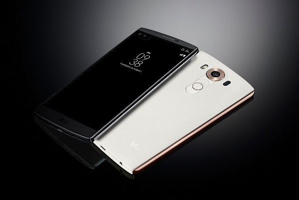 LG unveils V10 with Second Screen, Dual Front Cameras and Manual Video Mode