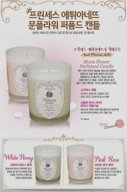 princess etoinette limited, jual etude murah, jual etude semarang, lilin aromatherapy