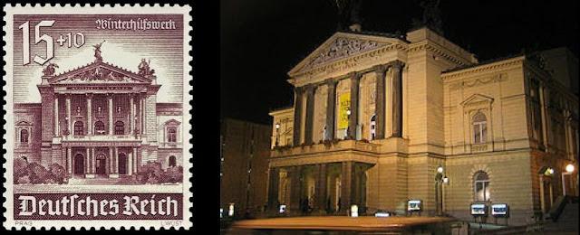 Prag Deutsches Theatre Einst und Jetzt