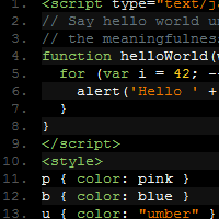 Use Prettify in Syntax Highlighting