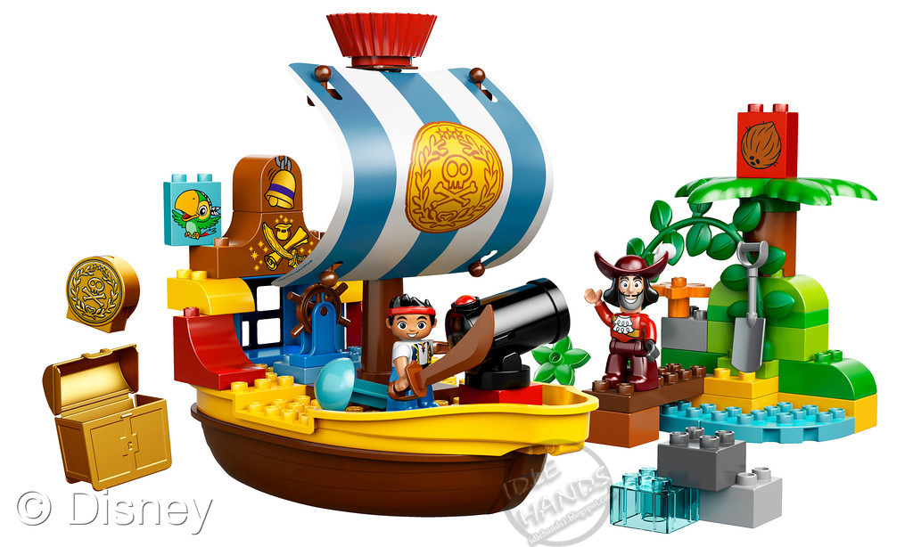 Toy Pirate Lego : Idle hands toy fair disney owns