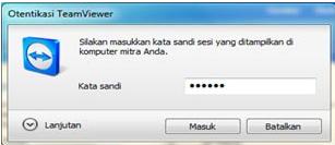 meremote komputer dengan teamviewer