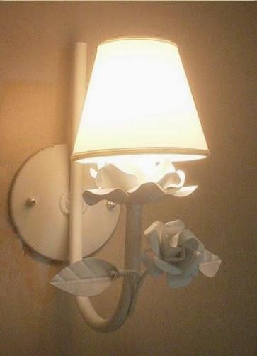Luminárias infantil, decoração provençal, Lustre infantil  ~ Abajur De Parede Para Quarto Infantil