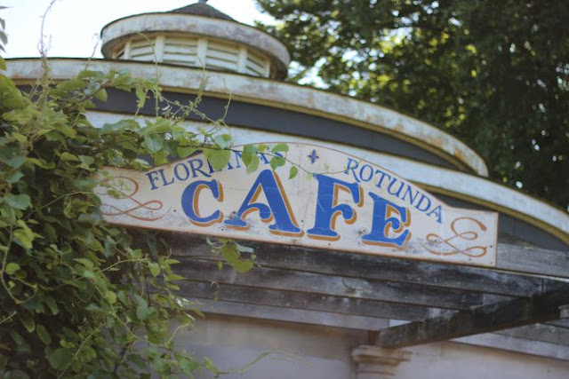Lovely old cafe sign