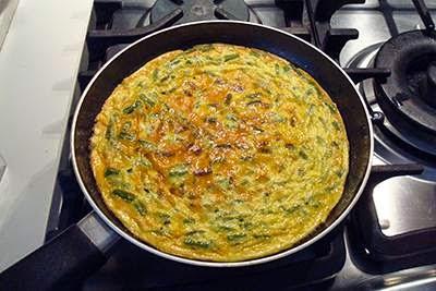 Frittata di asparagi 7
