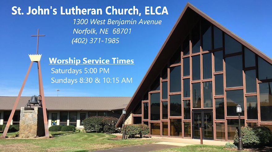 St. John's Lutheran Church ELCA, Norfolk, Nebraska