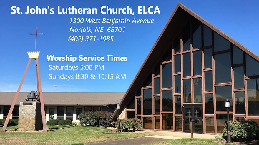 St. John's Lutheran Church ELCA, Norfolk, Nebraska