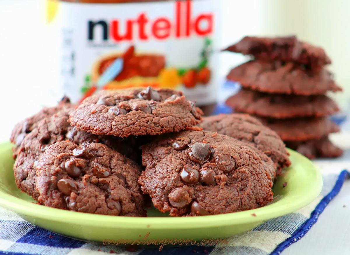 4-Ingredient Nutella Cookies | Manila Spoon