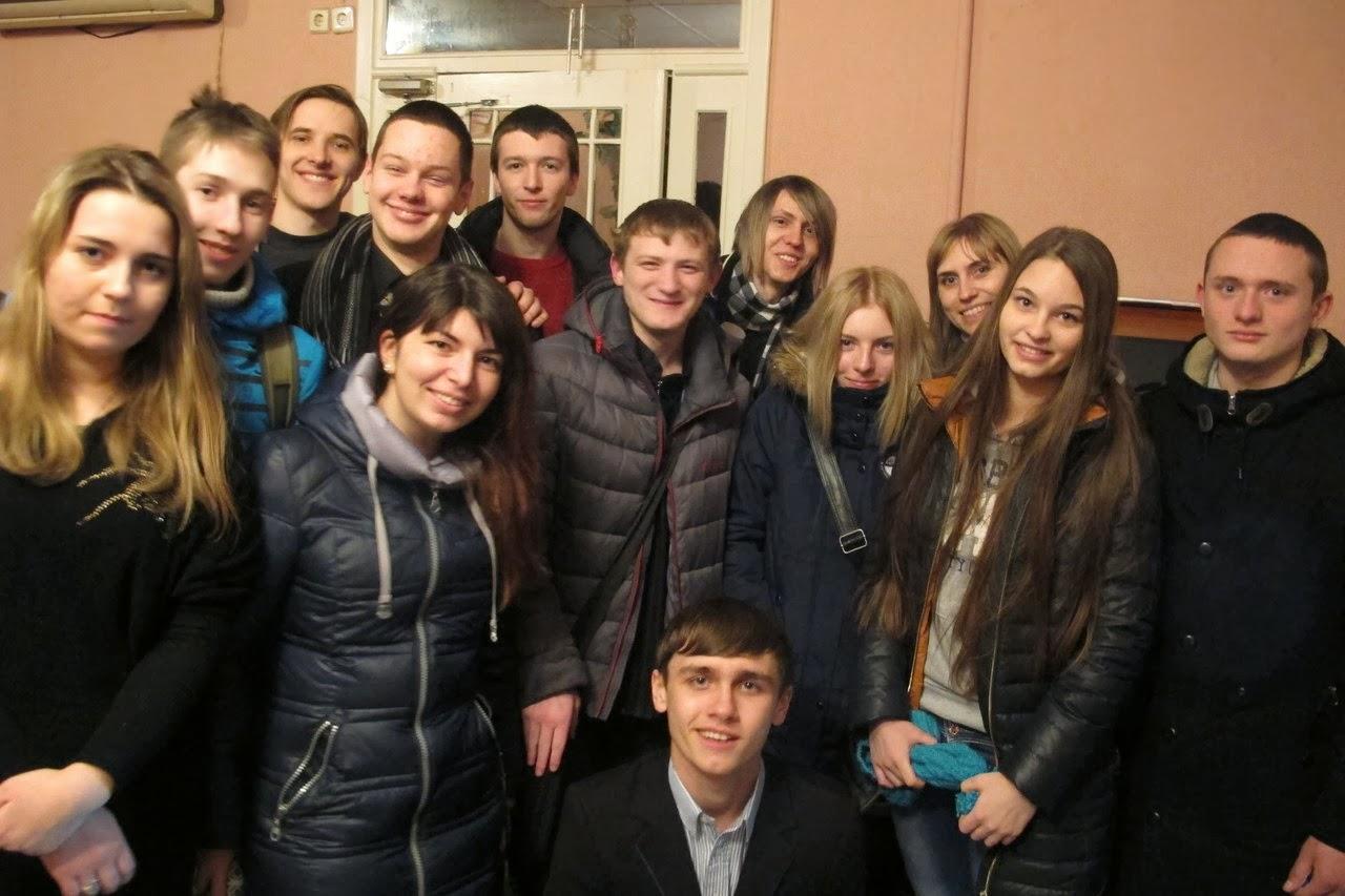 Майдан молоді в Нікополі