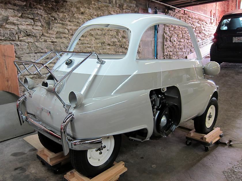 Bz U0026 39 S Bmw Isetta 300 U0026 39 S  Progress On Body Reassembly