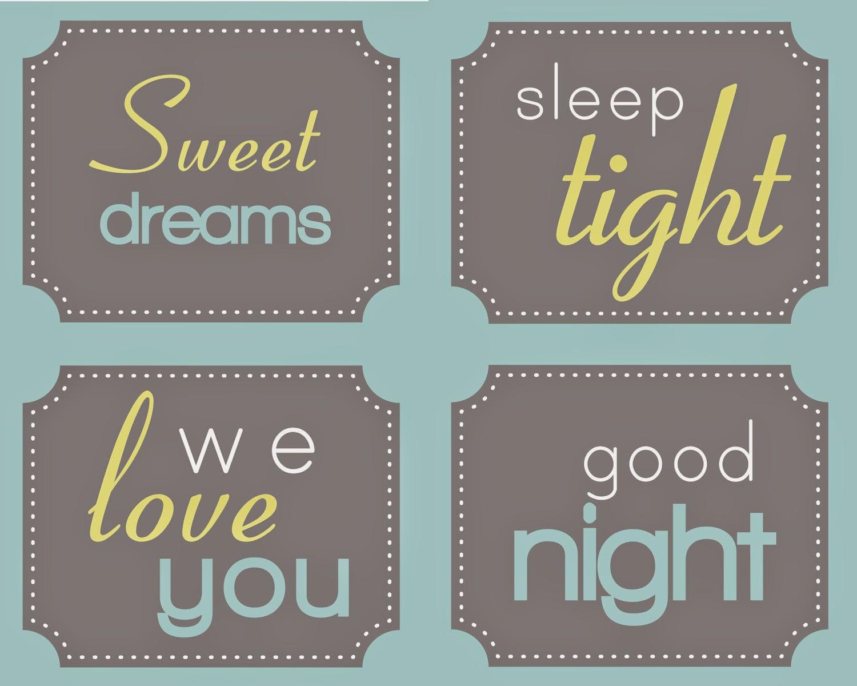 sweet dream sleep tight we love you good night wallpapers