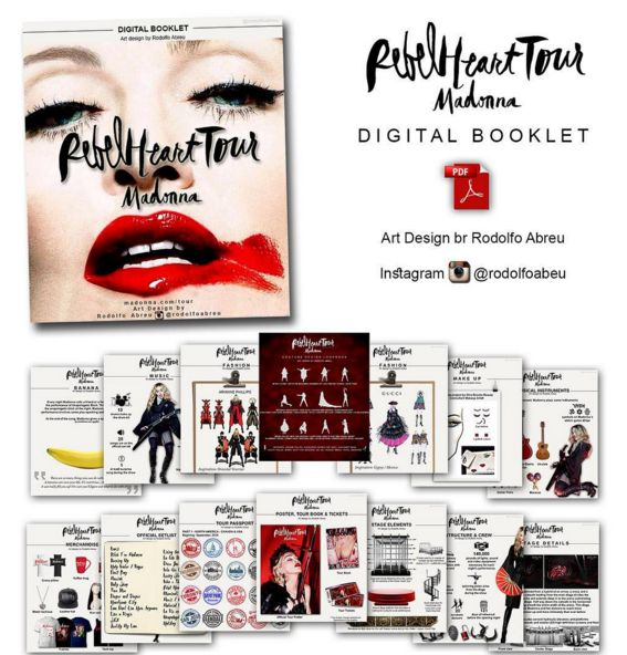 Rebel Heart Tour Digital Booklet por Rodolfo Abreu _ madonnaunusualmpap2.blogspot.com