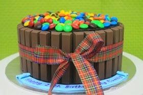 KitKat M&M Choc Moist Cake