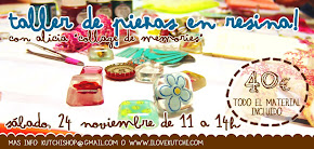 Taller de resina - 24 nov 2012