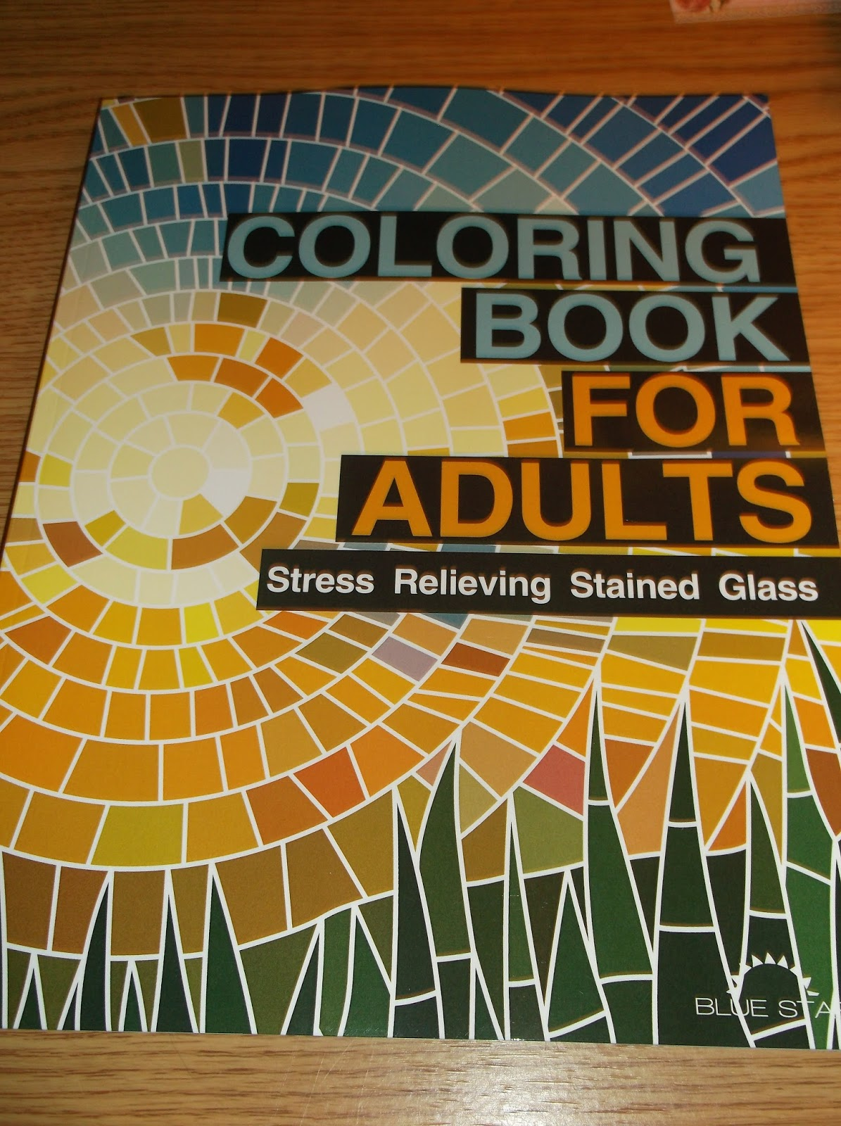 Coloring Book For Adults Stress Relieving Stained Glass Calm Your Mind And Free Inner Creator With This