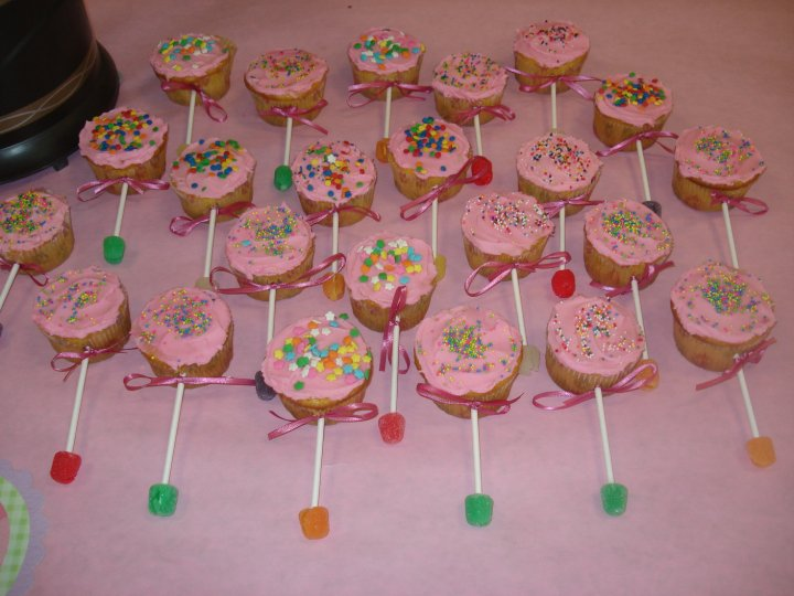 Baby Shower Cupcake Rattles Part - 15: Cupcakes Are The Newest Fad These Days. These Are Perfect For Your Next Baby  Shower. They Look Just Like A Baby Rattle And Are So Much Fun To Make.
