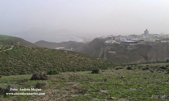 Calima y viento, Gran Canaria, 23 diciembre