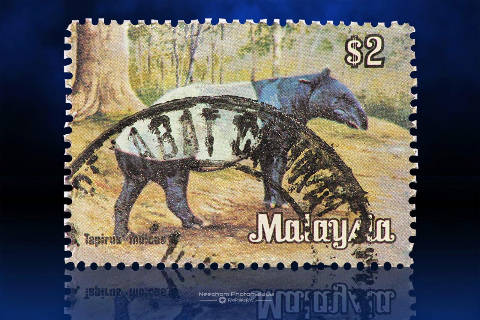 National Animals Series 1979 stamps - $2 Tapirus Indicus