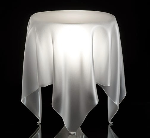 Illusion Ice Side Table, danish furniture, Cool furniture tricks, Optical illusions furniture for inspiration