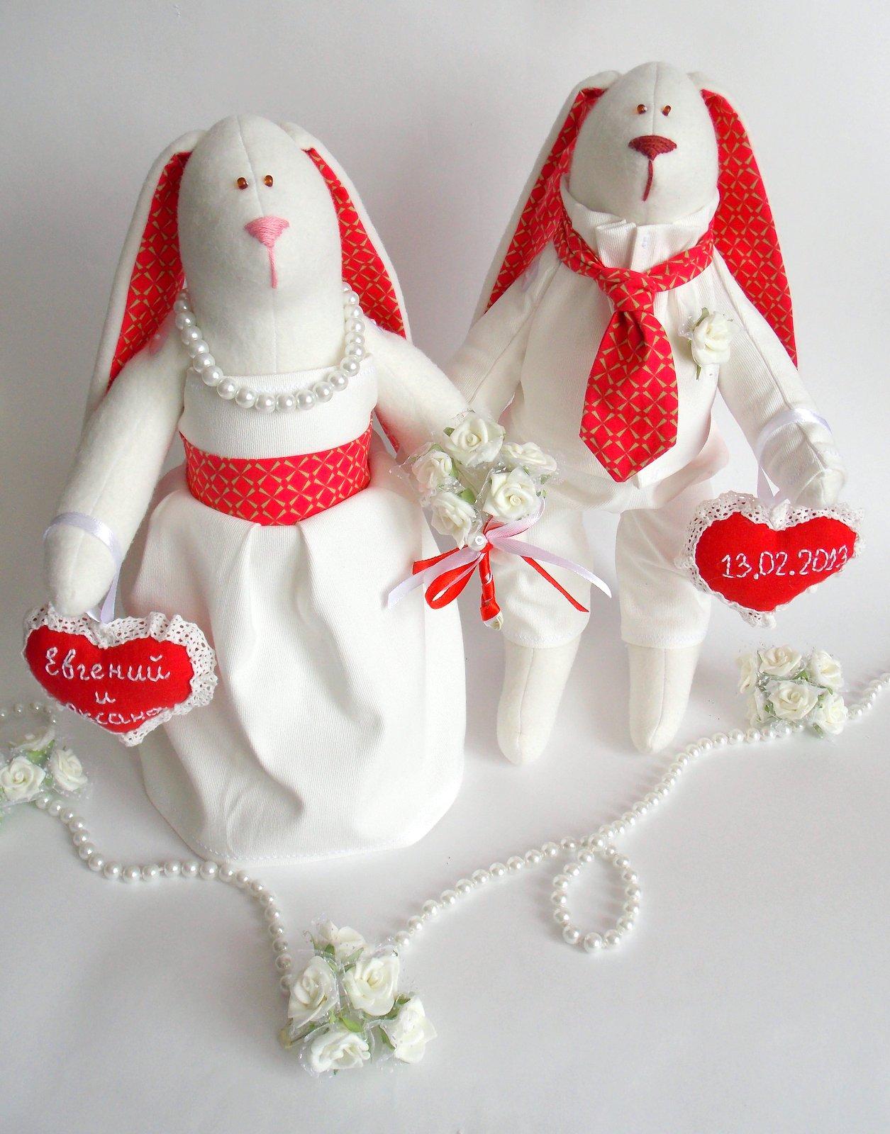 Свадебные куклы из ткани своими руками
