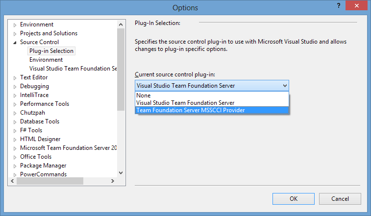 Connecting to TFS from any version of Visual Studio — Xebia Blog