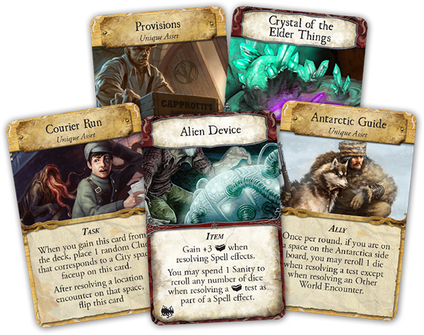 mountains of madness cartas nuevas