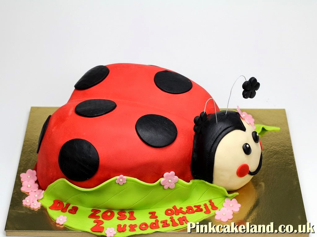 Ladybird Birthday Cake London