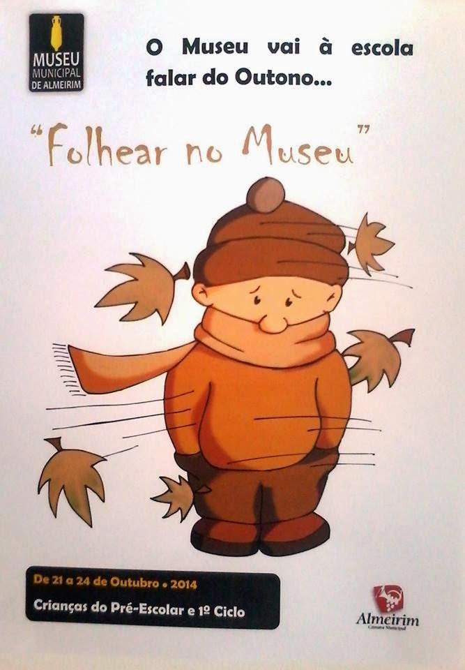 Folhear no Museu