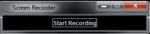 screen recording start the record task