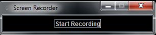 screen recording start the record task