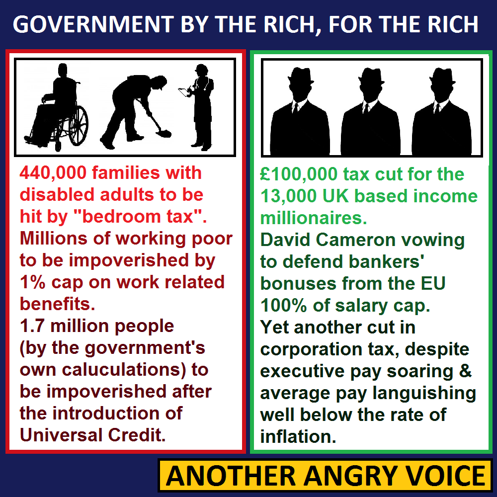Tory Priorities Serve The Rich Smash The Poor Investment Banking Blog Articles