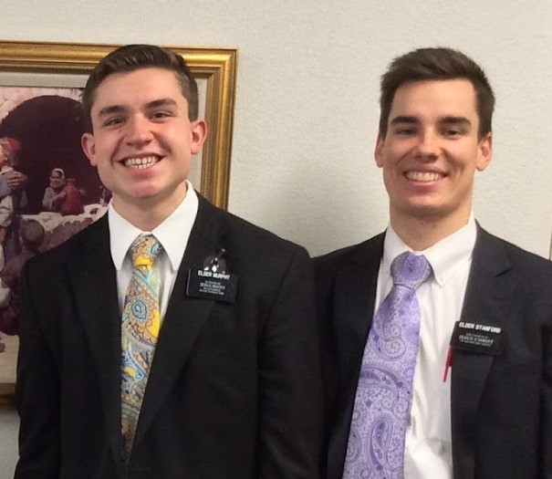 Elder Murphy and Elder Stanford