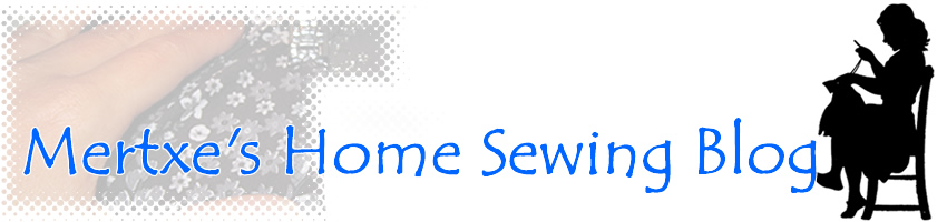 Mertxe's Home Sewing Blog