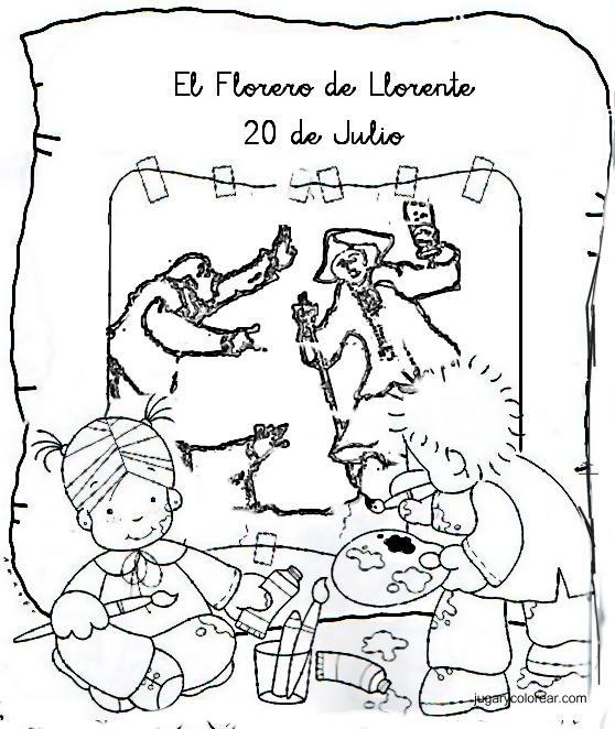 bocetos de campesino - imágenes para colorear - clipart gratis