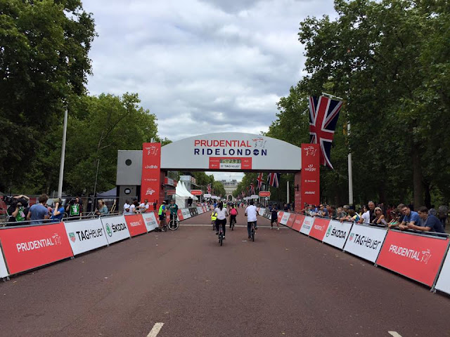 RideLondon 2015 cycling in London