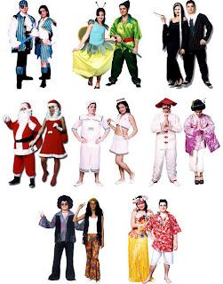 imagens de Fantasias Criativas para Festas