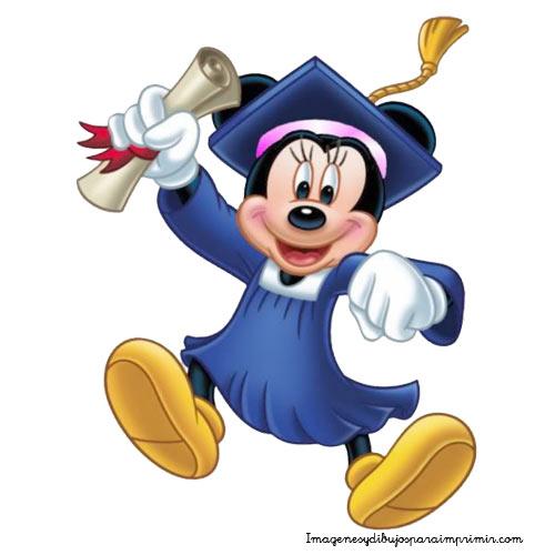 Minnie Mouse Graduation