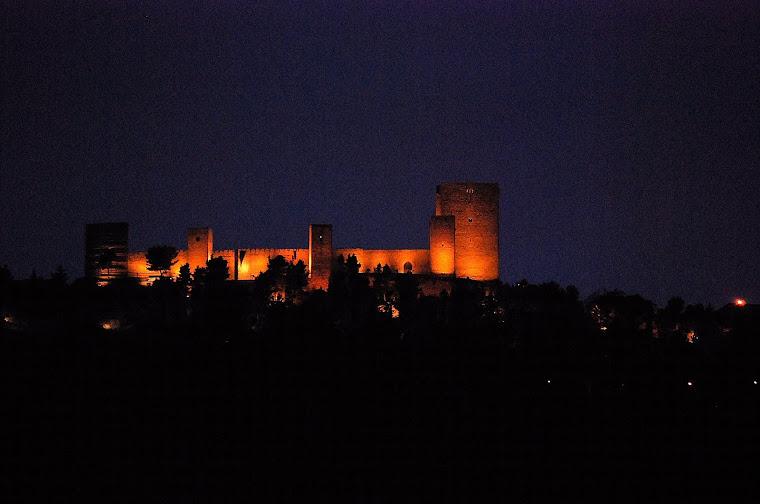 Castillo de Santa Catalina en Jaén España.