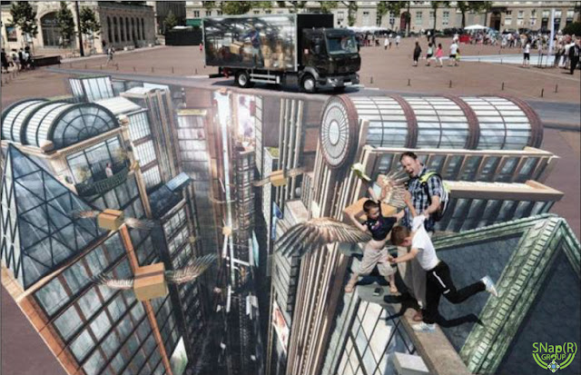 The Largest 3D Street Art in the World
