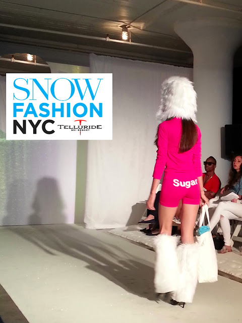 Snow Magazine fashion show