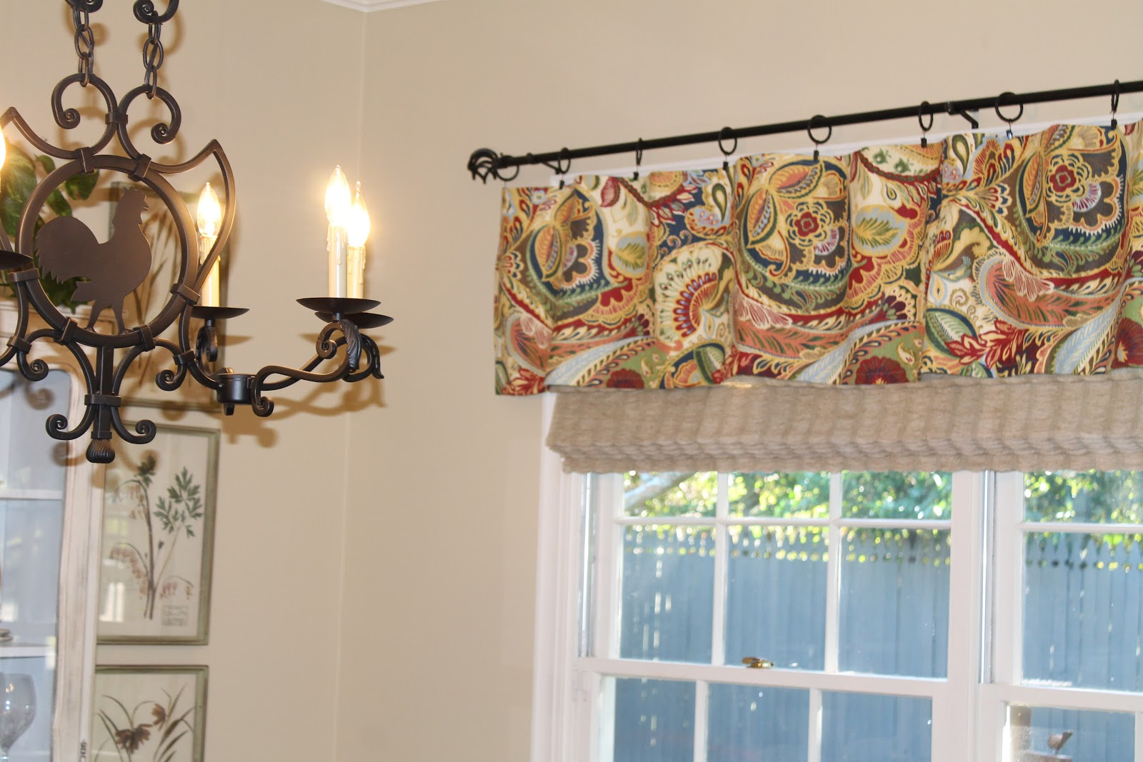 Awesome What Color Would You Use If You Were Going To Redo Your Kitchen Drapes Or  Valance?