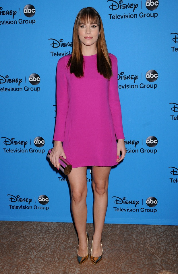 Christa B. Allen at the Disney & ABC's 2013 Summer TCA Party